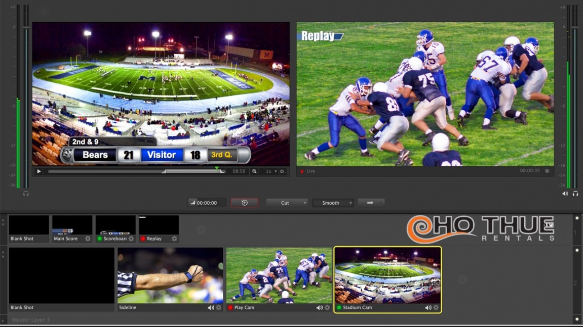 Hệ thống Livestream Pro