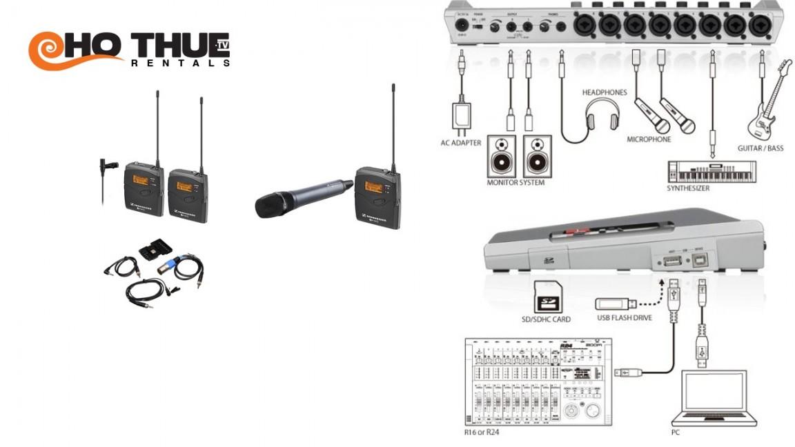 Combo thu âm 8 kênh (multitrack)