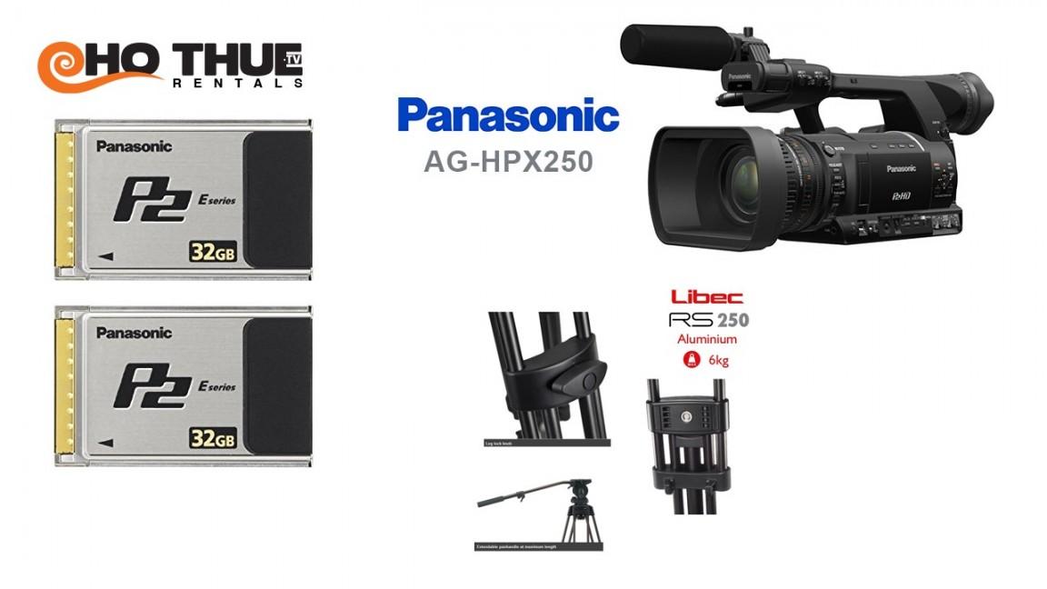 Camera P2, HPX-250 Panasonic